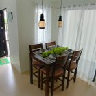 Dining room of Southview Homes model unit