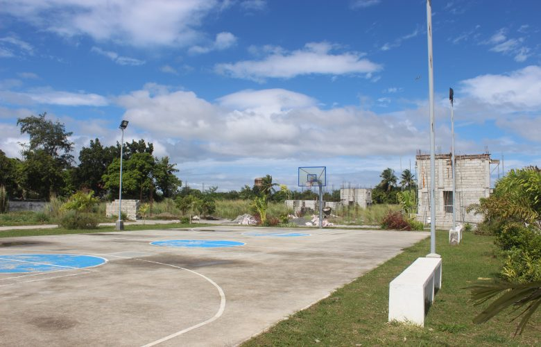 Basketball court in Brillianz Residences